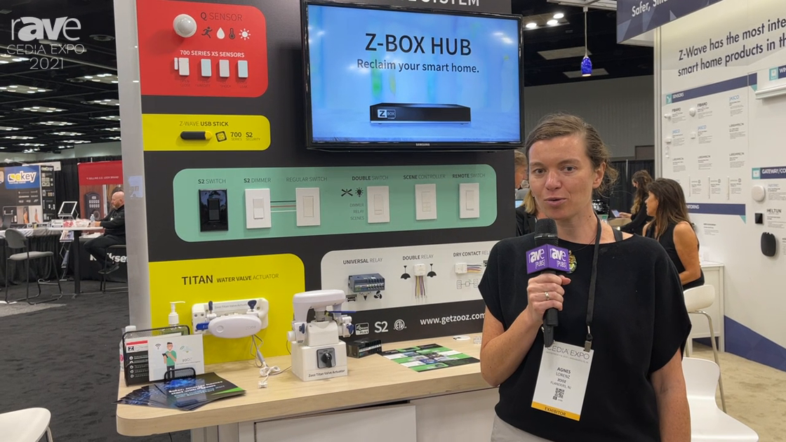 CEDIA Expo 2021: Zooz Talks Titan Water Valve Actuator for Automatic Leak Detection and Shut-off