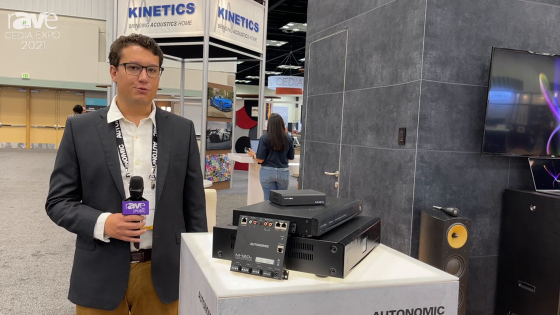 CEDIA Expo 2021: AUTONOMIC Showcases the Cloud-based Mirage Media Server With System Integration
