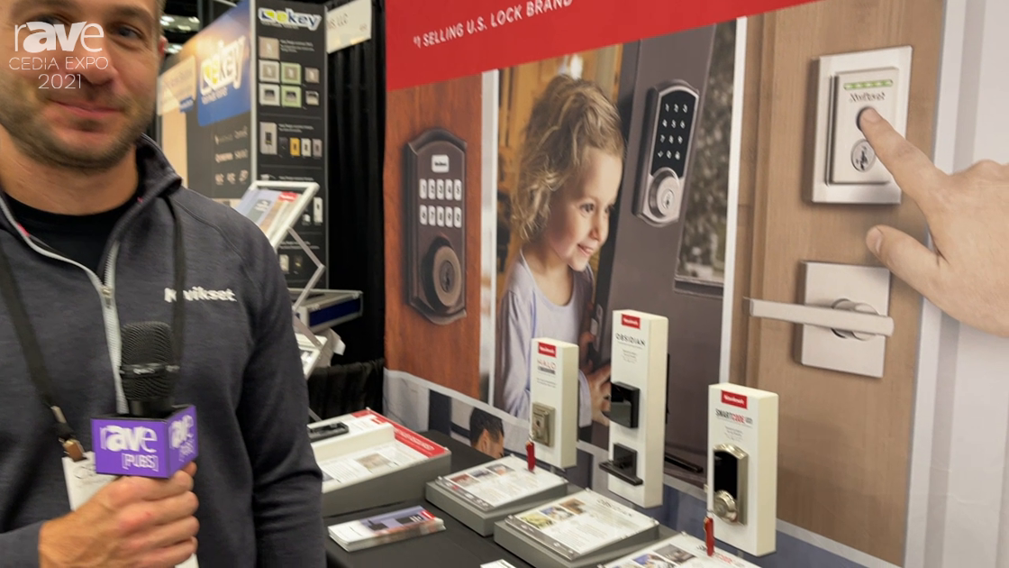 CEDIA Expo 2021: Kwikset Launches Home Connect 620 Electronic Keypad-connected Smart Lock