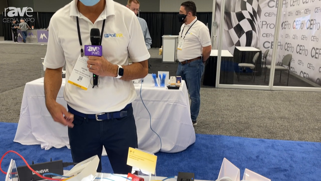 CEDIA Expo 2021: PoEWit Technologies Details PoE Security Light Solution for Camera Installations