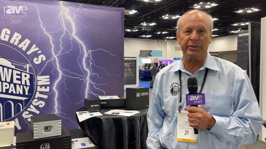 CEDIA Expo 2021: Richard Gray's Power Company Talks Power Protection, Power Enhancement Products