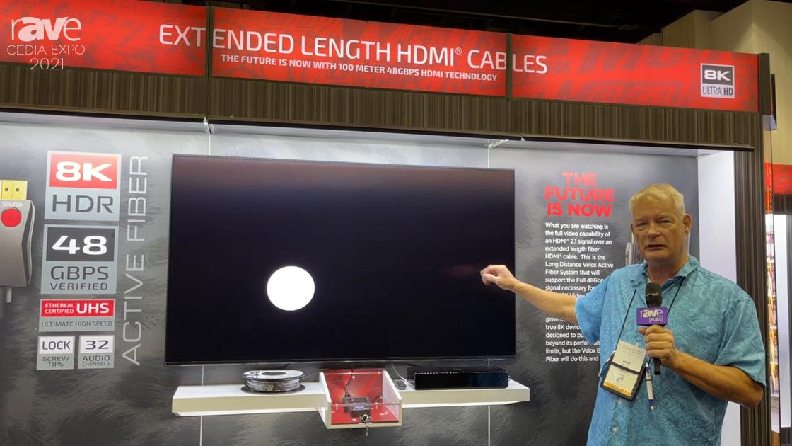 CEDIA Expo 2021: Metra AV Details 8K 48GBPS V-Locks Fiber System With Murideo 8K Generator