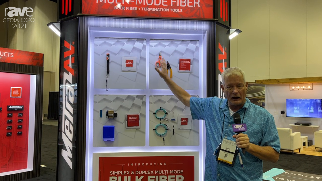 CEDIA Expo 2021: Metra AV Exhibits Competitively Priced Fiber Installation Kit and Tools