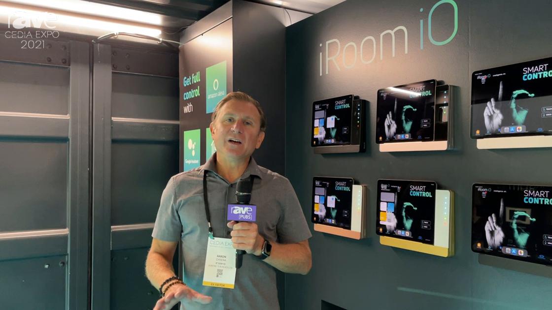 CEDIA Expo 2021: iRoom Explains iTop Series iPad Dock With Integrated Quick Keys
