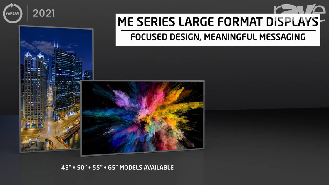 rePLAY 2021: Sharp/NEC Shows NEC ME Series Large Format Displays