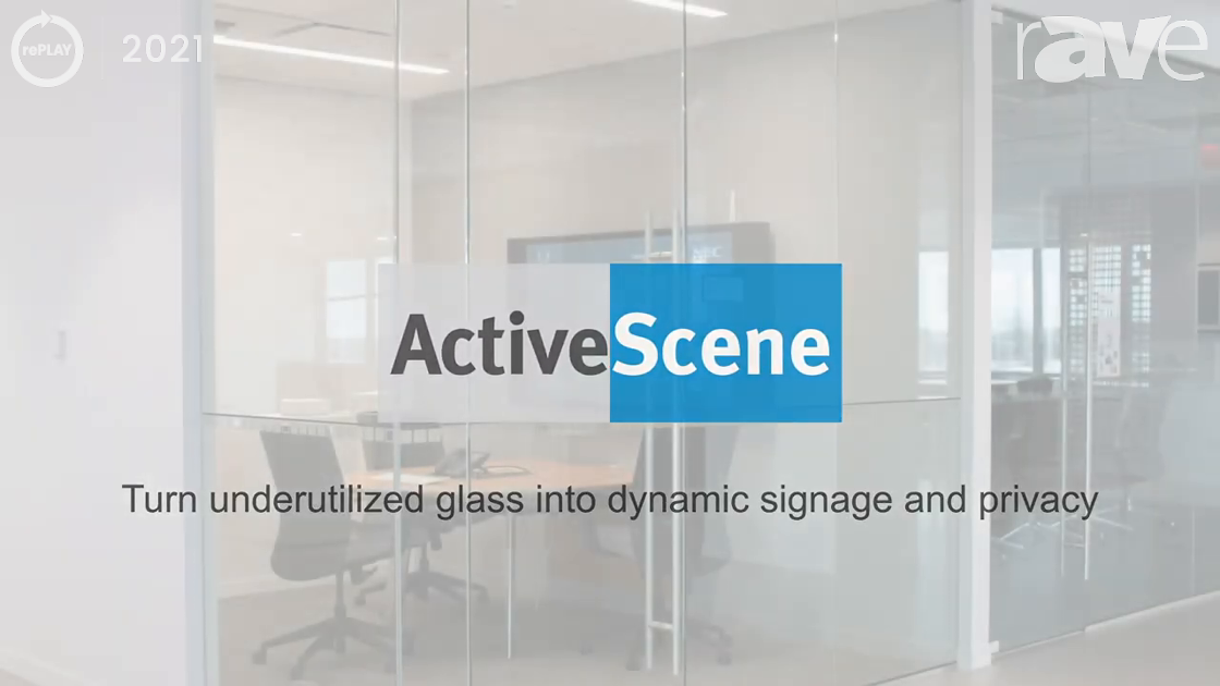 rePLAY 2021: Sharp/NEC Shows How ActiveScene Transforms Everyday Glass Into a Signage Solution
