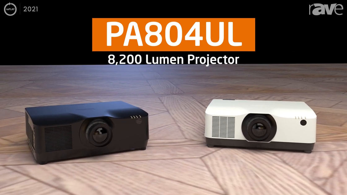 rePLAY 2021: Sharp/NEC Features the PA804UL Laser Projector