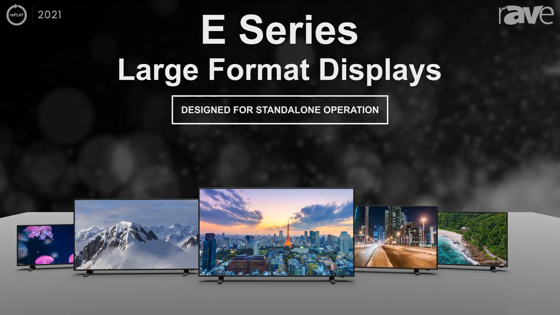 rePLAY 2021: Sharp/NEC Highlights E Series Large Format Displays