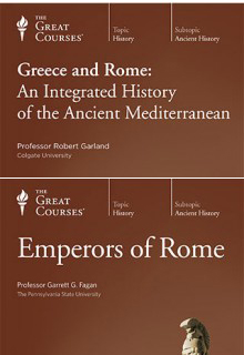 (Set) Greece and Rome: An Integrated History of the Ancient Mediterranean & Emperors of Rome