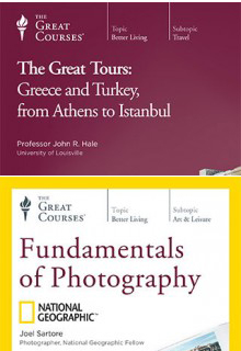 (Set)  Fundamentals of Photography & The Great Tours: Greece
