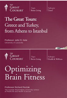 (Set)  Great Tours: Greece and Turkey & Optimizing Brain Fitne