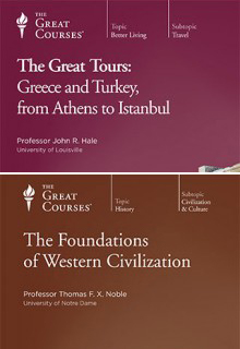 (Set) Great Tours: Greece and Turkey, from Athens to Istanbul  & Foundations of Western Civilization