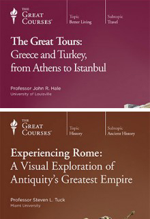 (Set) Great Tours: Greece and Turkey, from Athens to Istanbul & Experiencing Rome