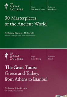 (Set) 30 Masterpieces of the Ancient World & Great Tours: Greece and Turkey