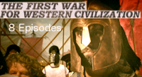 The First War for the West, 8 episodes, thumbnail image for Ancient Greece video channel at CelebrateGreece.com