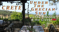 Crete - Under the Grecian Sun, A Romantic Culinary Travel Journey Program with The Goddess and the Greek