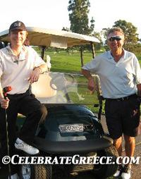 Golfing in Greece