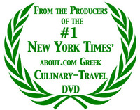 From the Producers of the #1 New York Times' about.com Culinary Travel DVD and video, A Greek Islands Destination Cooking Class, filmed in Santorini, Greece