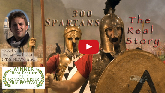 300 Spartans The Real Story Celebrate Greece