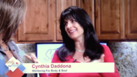 Our TV host Cynthia Daddona's