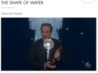 Greek Composer Alexandre Desplat wins 2nd Oscar of 9 Nominations