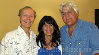 Jay Leno Cynthia Daddona and CelebrateGreece.com James Stathis