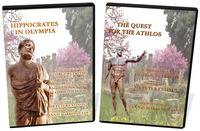 One Package, 2-DVD Set Combo Hippocrates in Olympia and The Quest for the Athlos