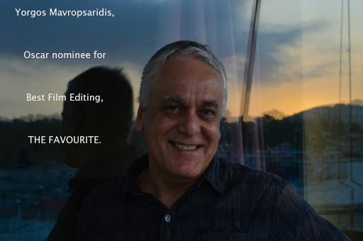 Yorgos Mavropsaridis, Editor nomination, for THE FAVOURITE