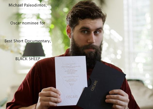 Michael Paleodimos for the Best Short Documentary nomination of BLACK SHEEP