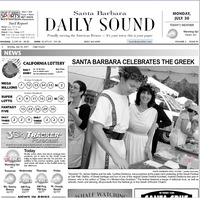 The Goddess and the Greek™ in the Daily Sound