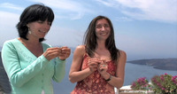 Production still from <em>A Greek Islands Destination Cooking Class</em>
