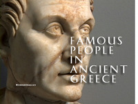 Famous People in Ancient Greece