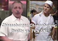"""""""Cheeseburger, Cheeseburger"""" and """"No Coke, Pepsi!"""": Reality vs. Saturday Night Live"""