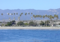 Goleta from ocean
