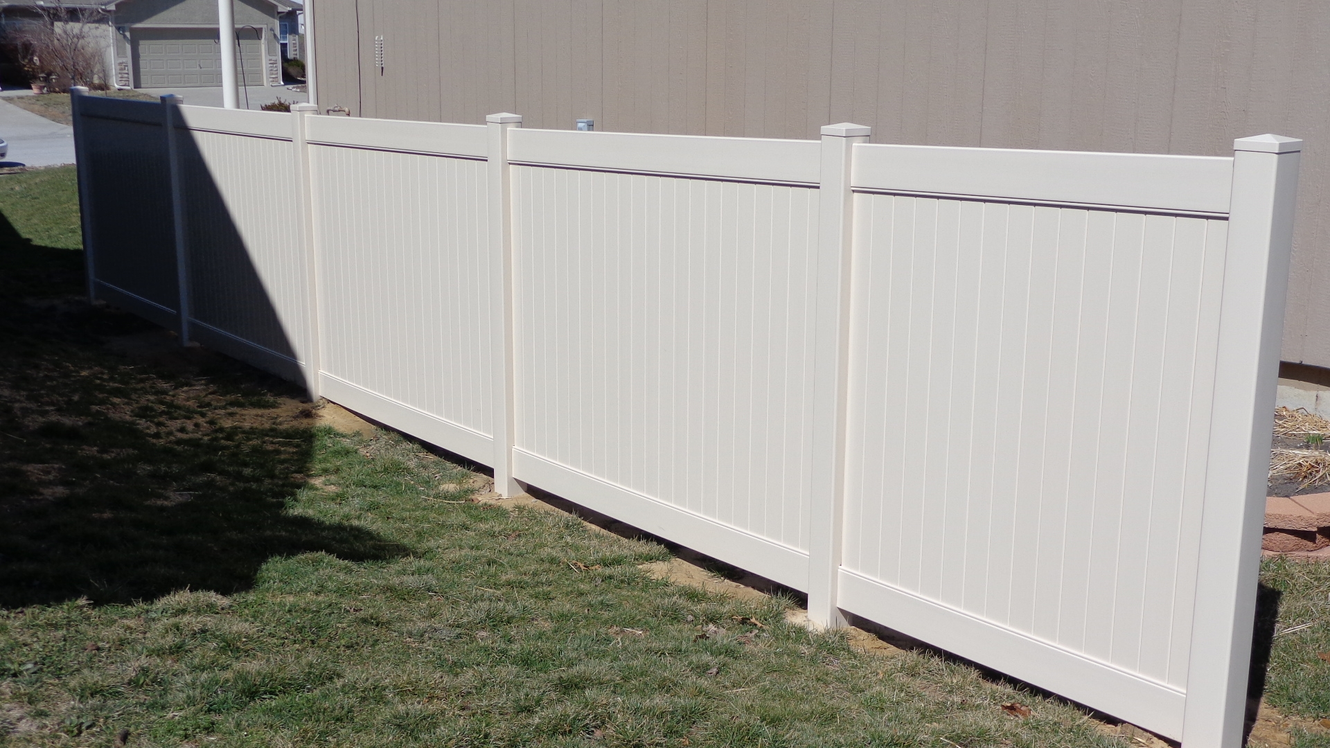 6 Vinyl Privacy Fence America S Fence Store