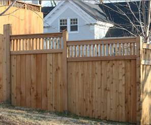 how to building a picket wood fence america 39 s fence store. Black Bedroom Furniture Sets. Home Design Ideas