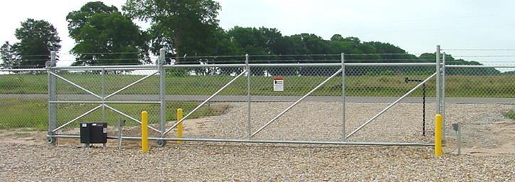 How To Chain Link Sliding Gates America S Fence Store