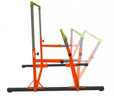 ELITE Kids Gym Adjustable Spreader Uneven Bars