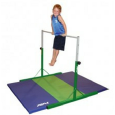Preschool Training Bar With Royal And Green Folding Mat