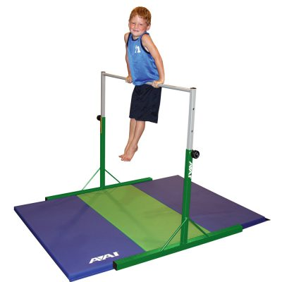 Preschool Gymnastics Bar with Folding Mat