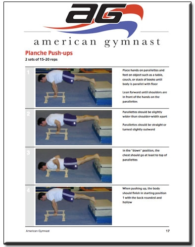 parallette training guide ebook rh american gymnast com Parallette Training a Guide Parallette Training for Core