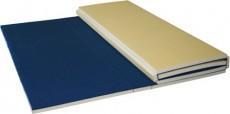 "EZ Fold Foam Bonded Carpet Mat - 6' x 8' x 1-3/8"""