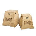 Wood Puzzle Plyo Boxes
