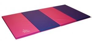Nastia Pink and Purple Tumbling Mat