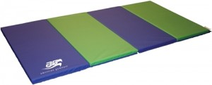 AG Royal and Green Tumbling Mat