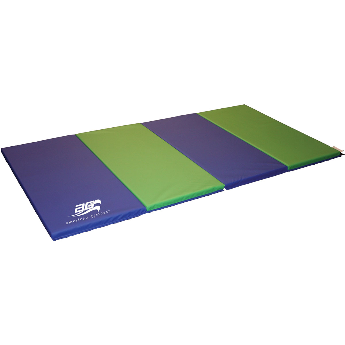 x blue gym itm gymnastics tumbling fitness mat exercise folding panel thick
