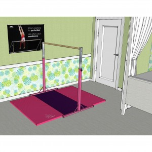 Nastia Home Training Bar and Mat Bundle