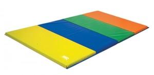 "4' x 12' x 1.5"" Rainbow Tumbling Mat"