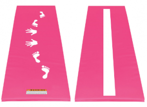 Pink Cartwheel Mat