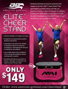Elite™ Cheer Stand Flyer